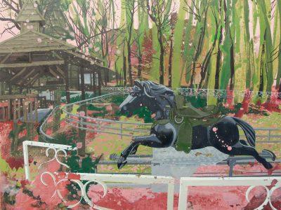 Black Horse,120x120,2014